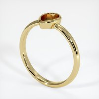18K Yellow Gold Ring Setting - JS663Y18