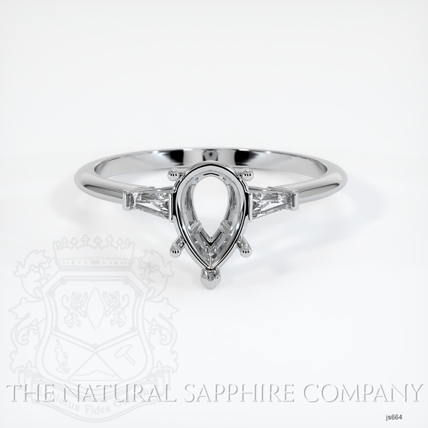 5 Prong Multi Stone Ring Setting JS664 Image 2