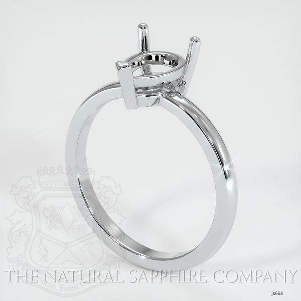 3 Prong Solitaire Ring Setting JS668 Image