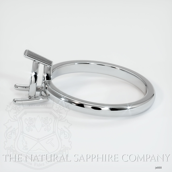 3 Prong Solitaire Ring Setting JS668 Image 3