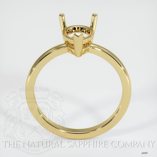 3 Prong Solitaire Ring Setting JS668 Image 4