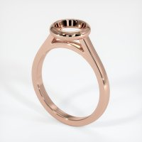 14K Rose Gold Ring Setting - JS689R14