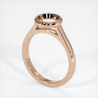 18K Rose Gold Ring Setting - JS689R18