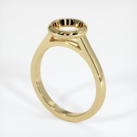 14K Yellow Gold Ring Setting - JS689Y14