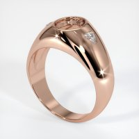 14K Rose Gold Ring Setting - JS69R14