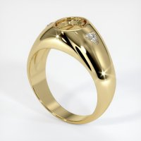 14K Yellow Gold Ring Setting - JS69Y14