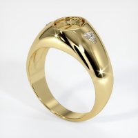 18K Yellow Gold Ring Setting - JS69Y18