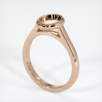 18K Rose Gold Ring Setting - JS690R18
