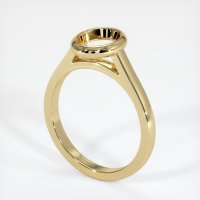 14K Yellow Gold Ring Setting - JS690Y14
