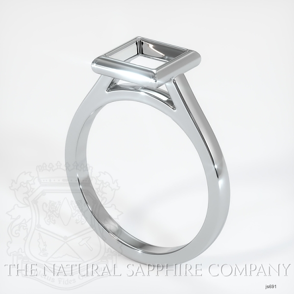 Bezel Set Solitaire Ring Setting JS691 Image
