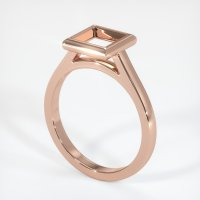 14K Rose Gold Ring Setting - JS691R14