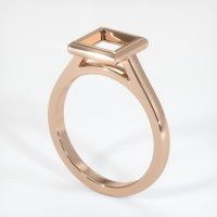 18K Rose Gold Ring Setting - JS691R18