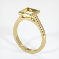 14K Yellow Gold Ring Setting - JS691Y14