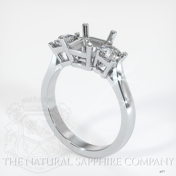 4 Prong Multi Stone Ring Setting JS71 Image