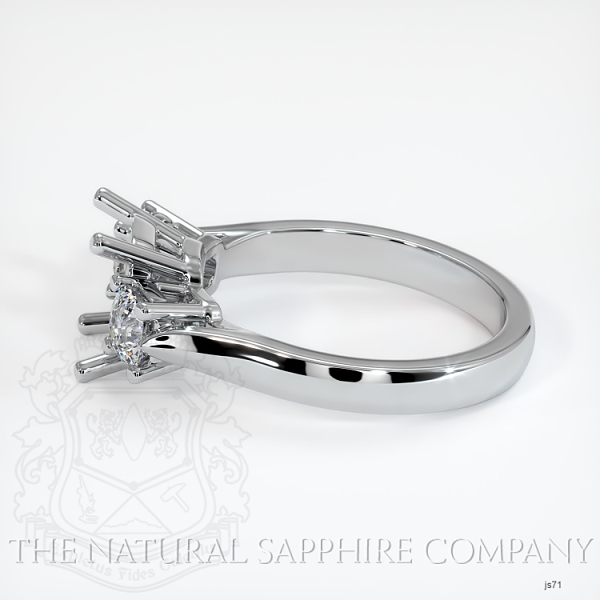 4 Prong Multi Stone Ring Setting JS71 Image 3
