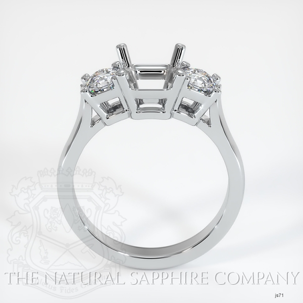 4 Prong Multi Stone Ring Setting JS71 Image 4