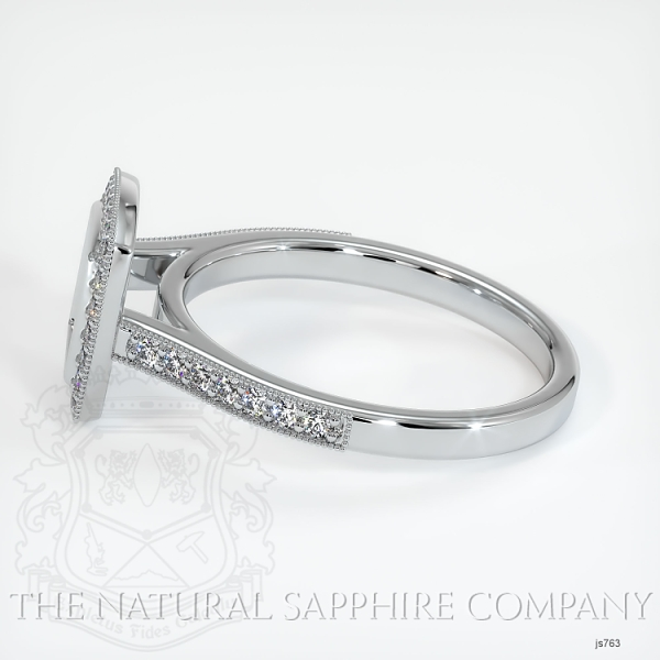 Bezel Set Pave Ring Setting JS763 Image 3