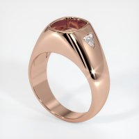 14K Rose Gold Ring Setting - JS778R14