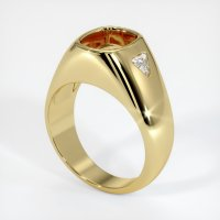 18K Yellow Gold Ring Setting - JS778Y18