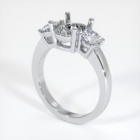 18K White Gold Ring Setting - JS790W18