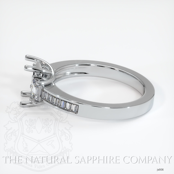 4 Prong Multi Stone Wedding Setting JS806 Image 3