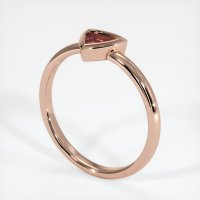 14K Rose Gold Ring Setting - JS825R14