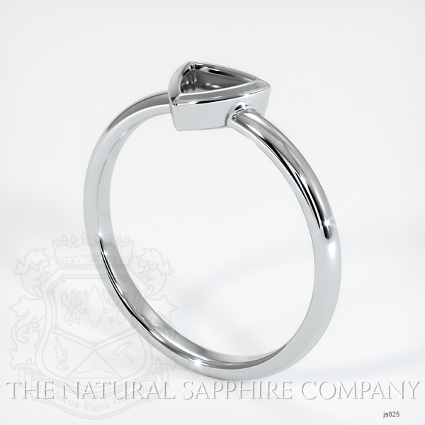 Bezel Set Solitaire Ring Setting JS825 Image