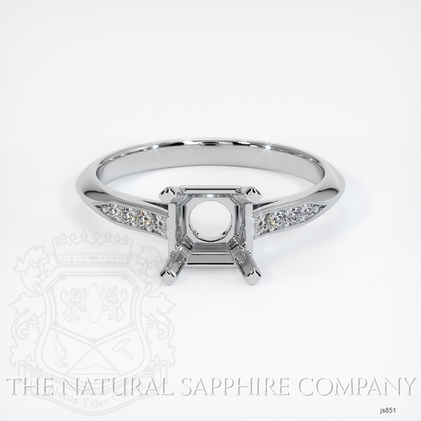 Vintage Solitaire Ring Setting JS851 Image 2