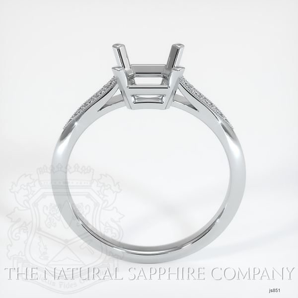 Vintage Solitaire Ring Setting JS851 Image 4