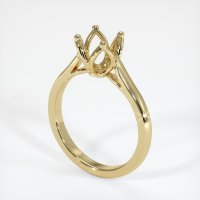 14K Yellow Gold Ring Setting - JS871Y14