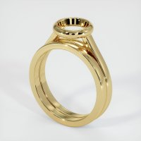 14K Yellow Gold Ring Setting - JS885Y14