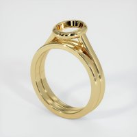 14K Yellow Gold Ring Setting - JS886Y14