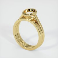 18K Yellow Gold Ring Setting - JS886Y18