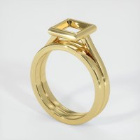 18K Yellow Gold Ring Setting - JS887Y18