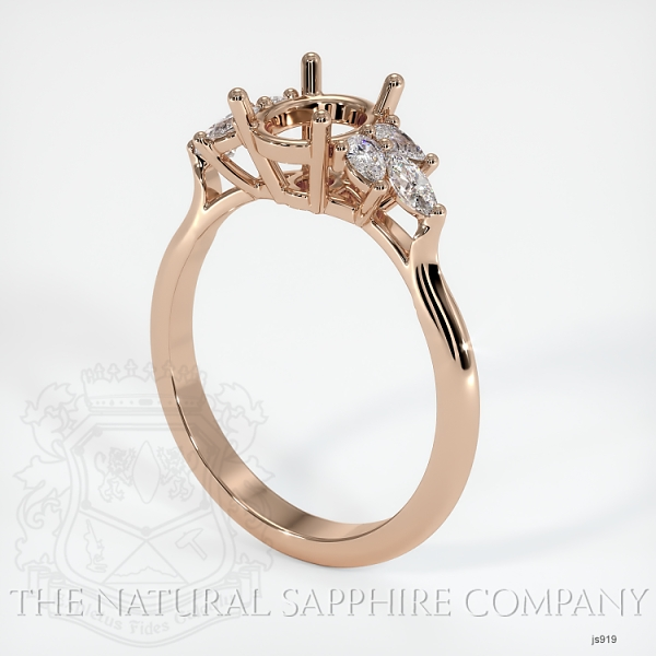 4 Prong Multi Stone Ring Setting JS919 Image