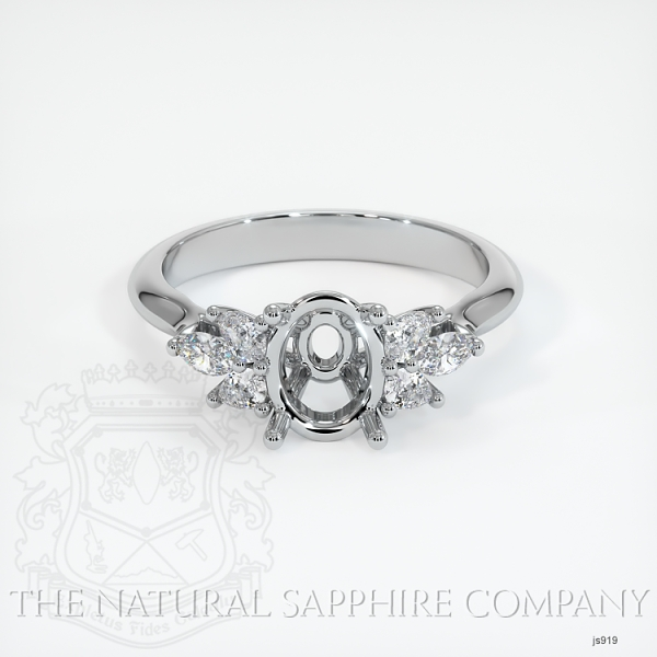 4 Prong Multi Stone Ring Setting JS919 Image 2