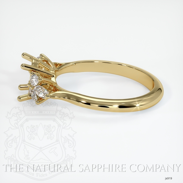 4 Prong Multi Stone Ring Setting JS919 Image 3