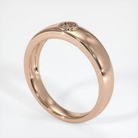 18K Rose Gold Ring Setting - JS932R18