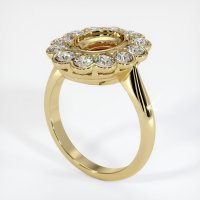 14K Yellow Gold Ring Setting - JS940Y14