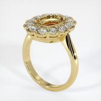 18K Yellow Gold Ring Setting - JS940Y18