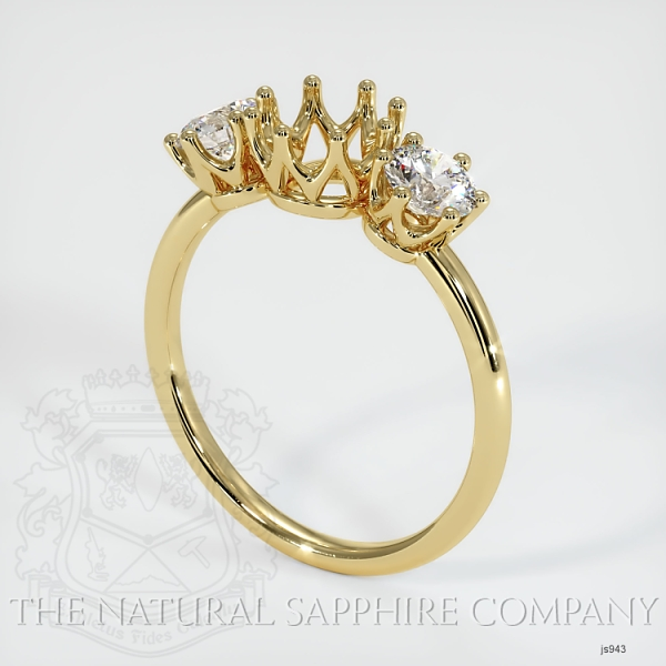 6 Prong Multi Stone Ring Setting JS943 Image