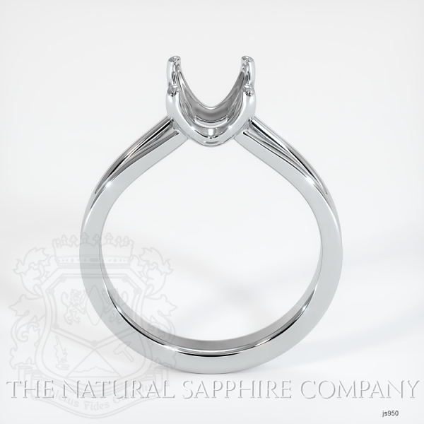 4 Prong Split Shank Solitaire Ring JS950 Image 4