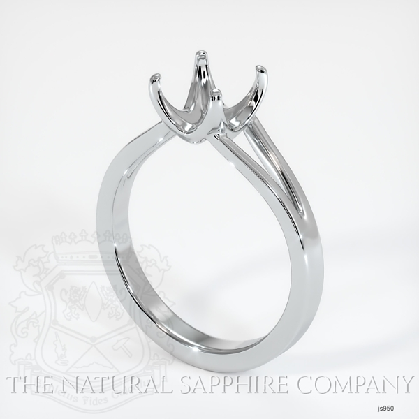 4 Prong Split Shank Solitaire Ring JS950 Image