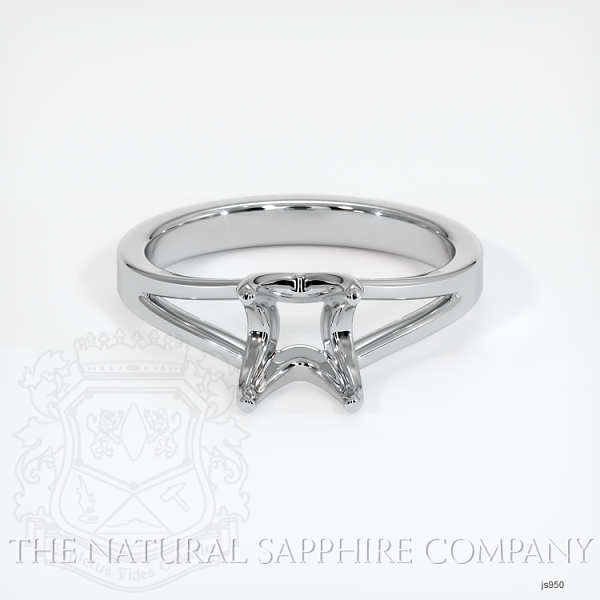 4 Prong Split Shank Solitaire Ring JS950 Image 2