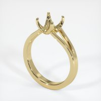14K Yellow Gold Ring Setting - JS950Y14