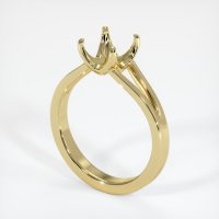 18K Yellow Gold Ring Setting - JS950Y18