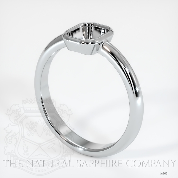 Bezel Set Solitaire Ring Setting JS962 Image
