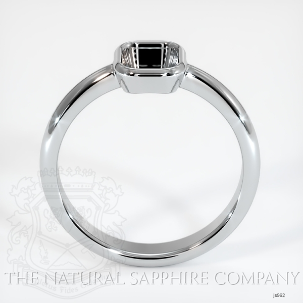 Bezel Set Solitaire Ring Setting JS962 Image 4