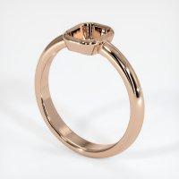 18K Rose Gold Ring Setting - JS962R18
