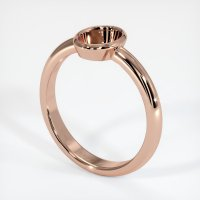 14K Rose Gold Ring Setting - JS963R14